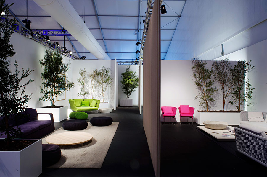 Fendi collector's lounge | Design Miami Art Basel 2011