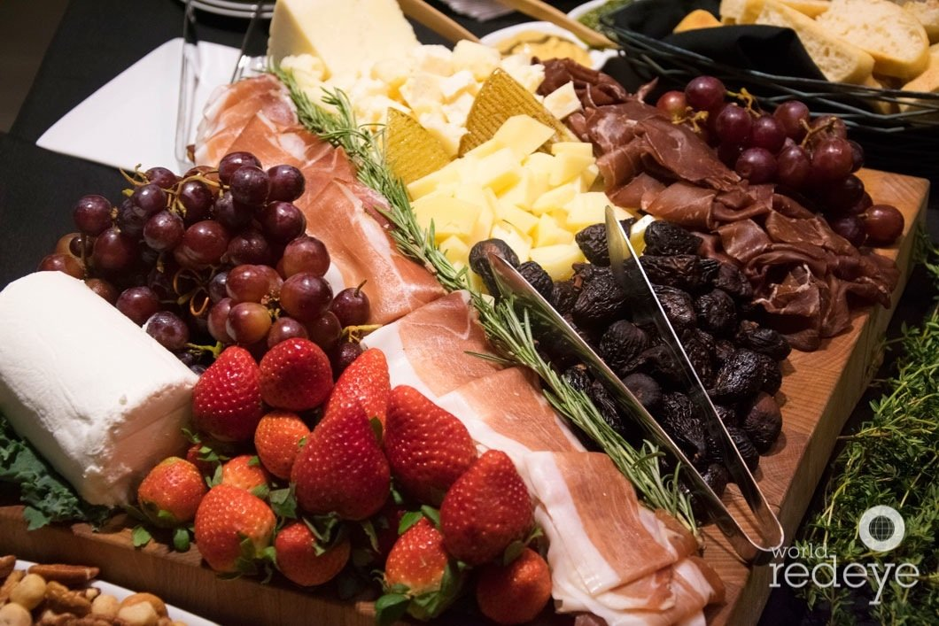 yacht party food ideas | beautiful cheese and antipasto display
