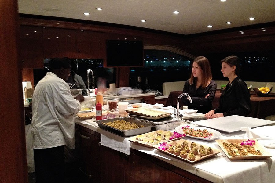 yacht catering | yacht food