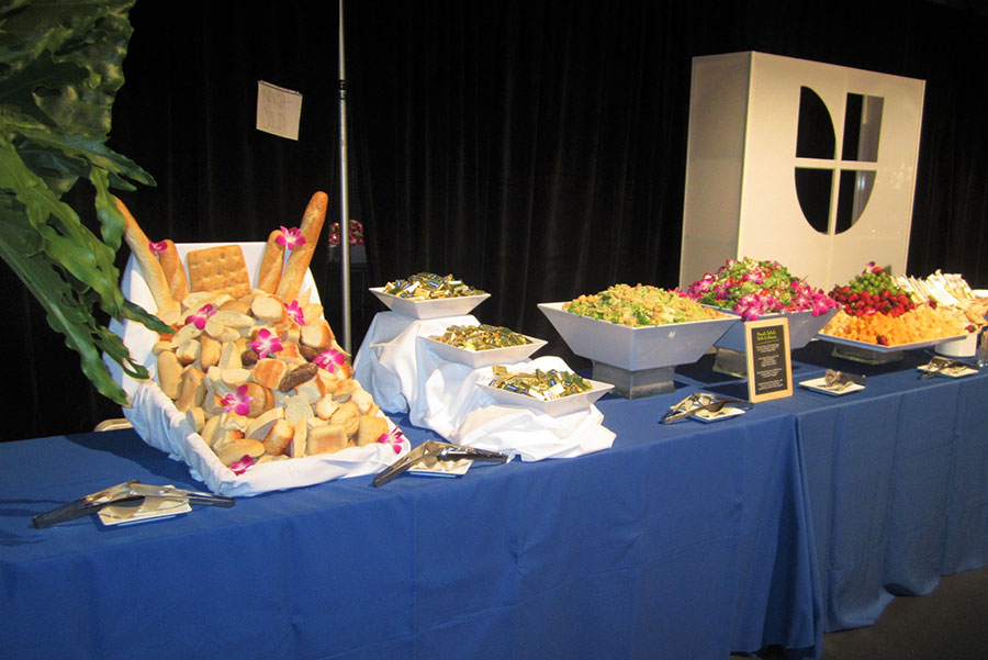 univision   Eggwhites Catering buffet lunch   event catering services