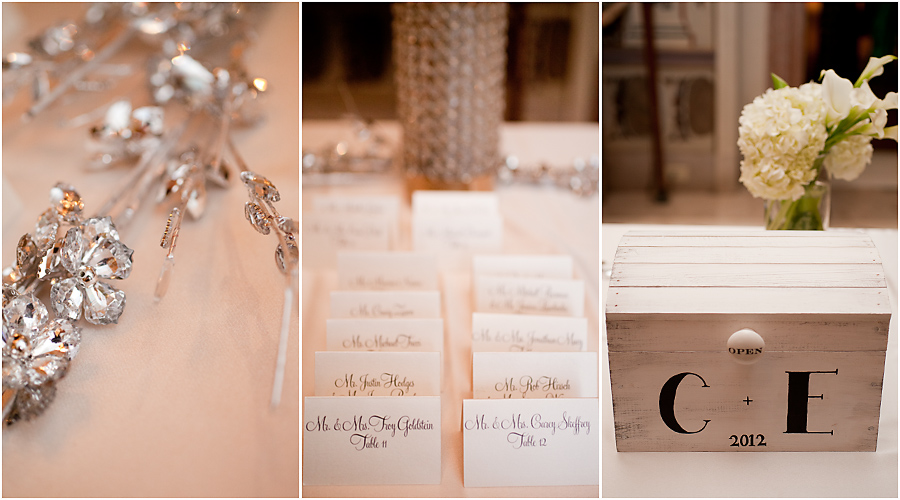 Style Me Pretty Miami Weddings | escort cards | Vizcaya
