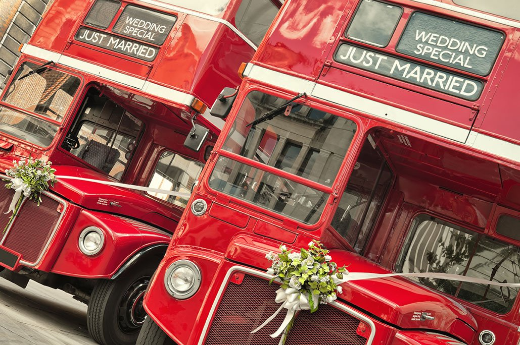 Green weddings | transportation | trolley