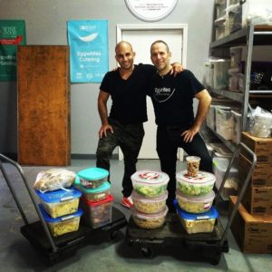 Eggwhites CEO Chef Gary Lampner and JP Khoueiri