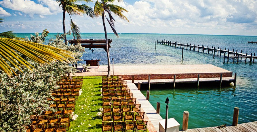Key West wedding ceremony | South Florida beach wedding