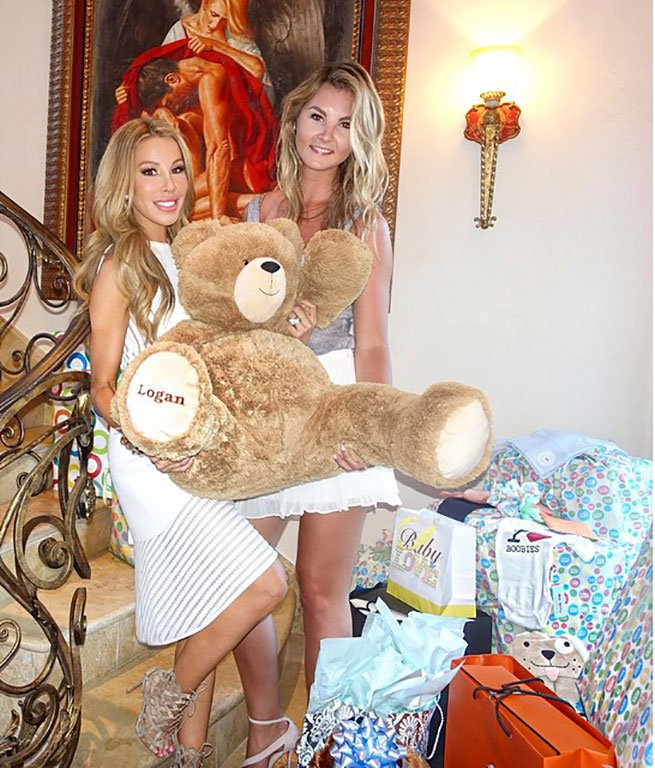 Catering for baby shower   Lisa Hochstein of the Real Housewives of Miami
