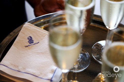 Champagne at the Ritz Carlton Residences miami Beach