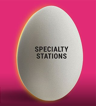 Eggwhites Catering Specialty Stations