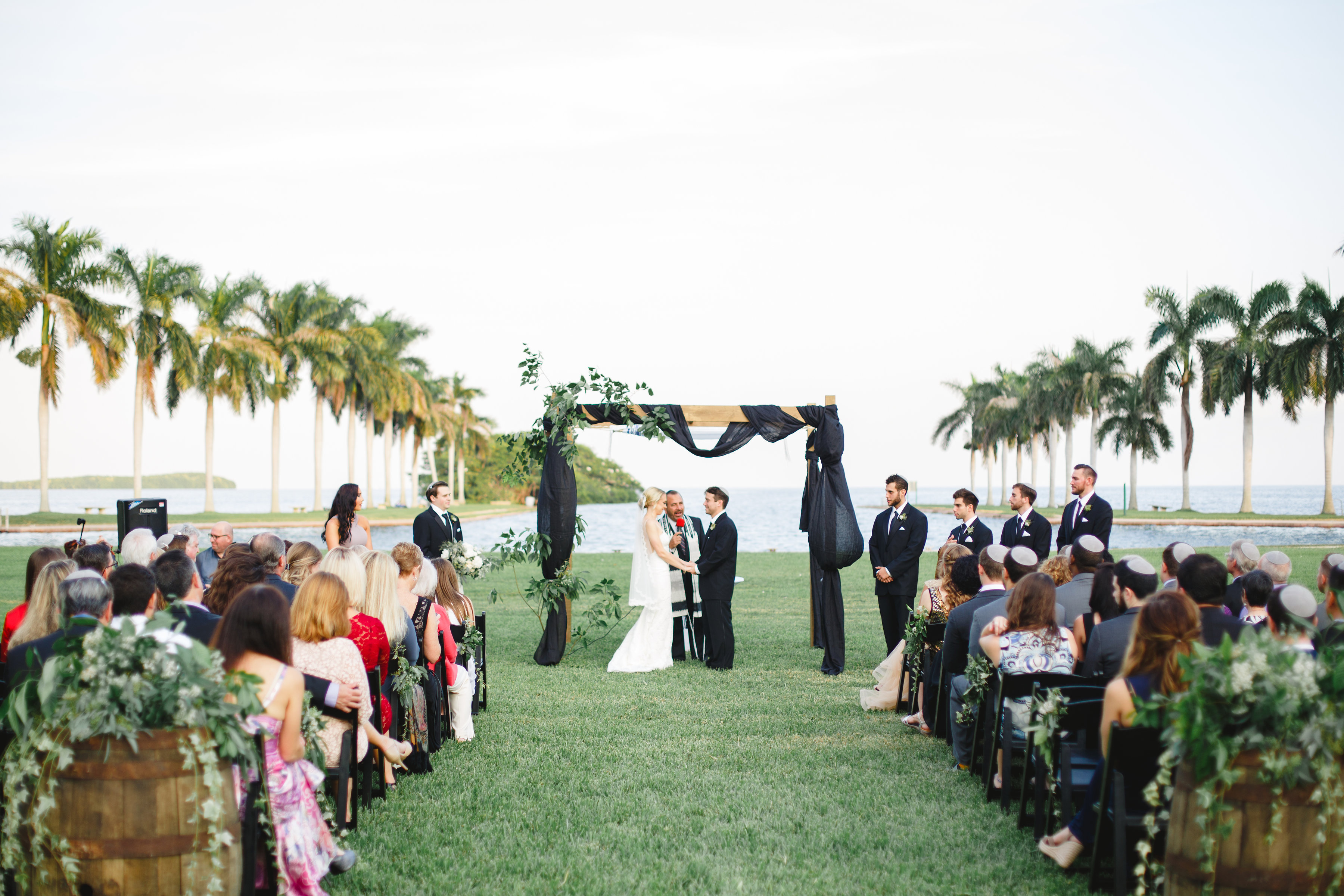 Luci and Mike | Deering Estate Miami Wedding | Eggwhites Catering