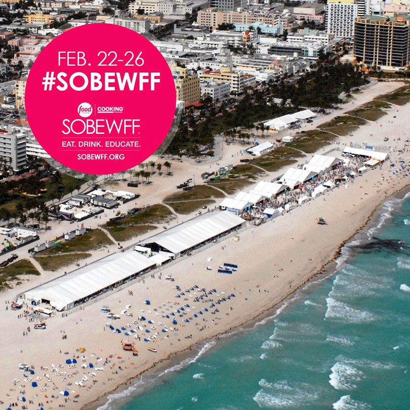 Eggwhites Catering is participating in our 16th annual South Beach Wine & Food Festival in Miami, FL