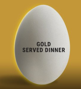 Eggwhites Catering Gold Wedding Package | Served Dinner Menu