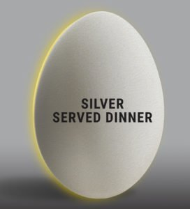 Eggwhites Catering Silver Wedding Package | Served Dinner Menu