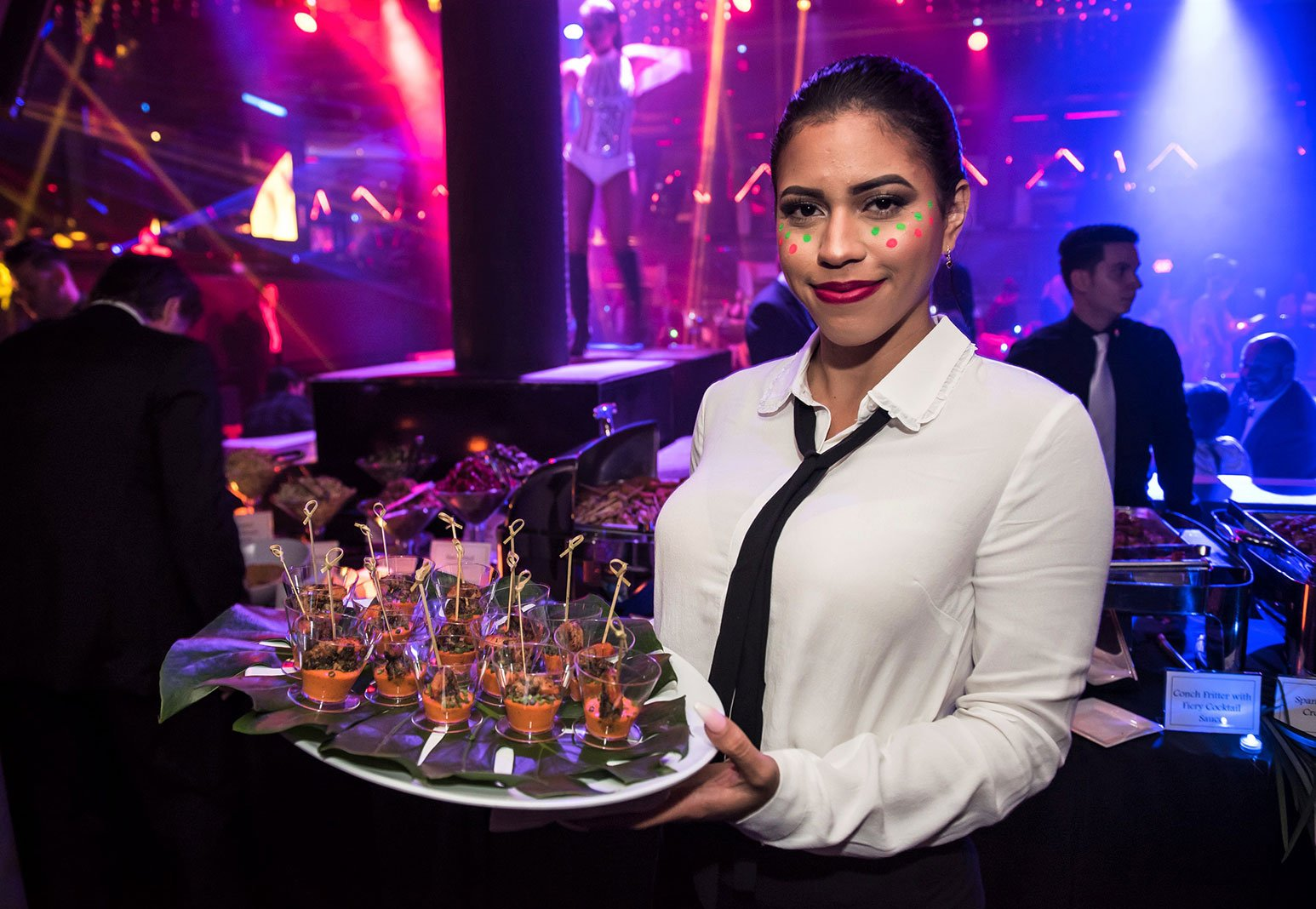 Eggwhites Special Event Catering at 2017 Billboard Latin Music Awards VIP After-Party at STORY Nightclub