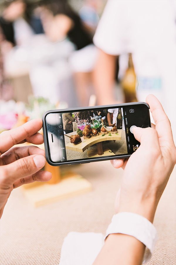 top South Florida caterer   Eggwhites Catering instagram moment