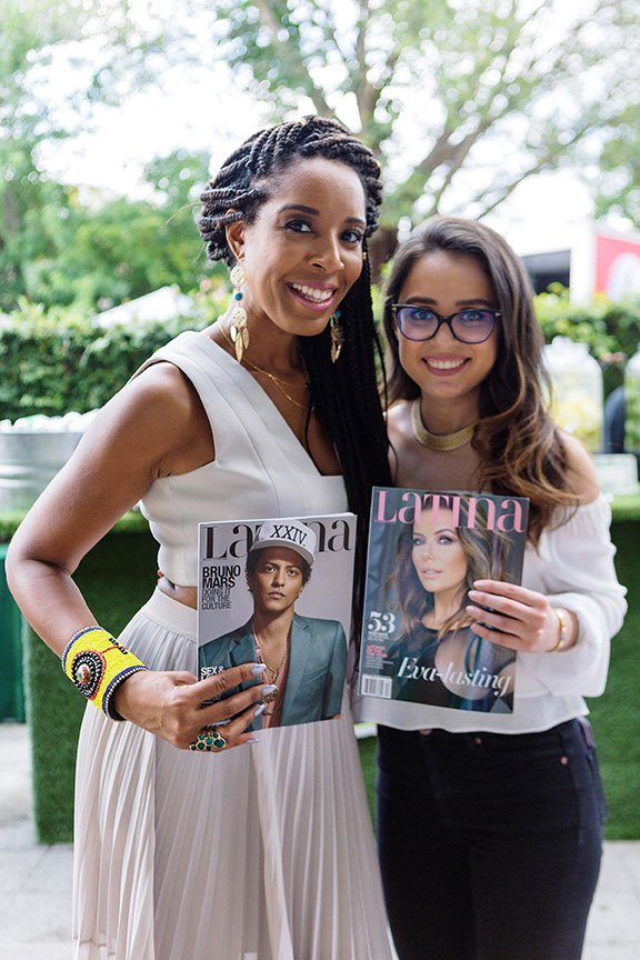 Latina Magazine at the at Hispanicize Miami 2017 DiMe Summit