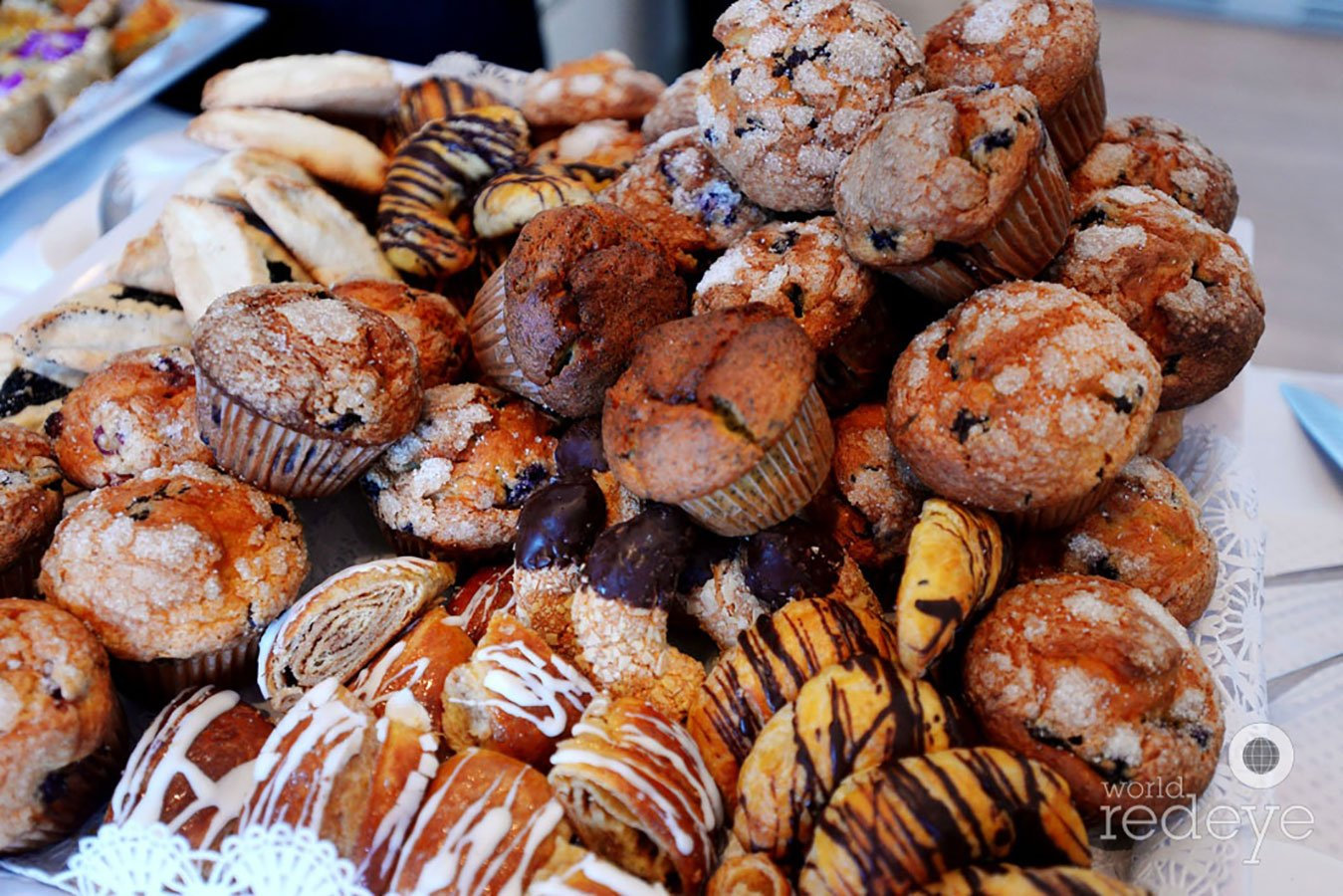 Pastries at Ritz Carlton Miami Beach Brunch for Sotheby's