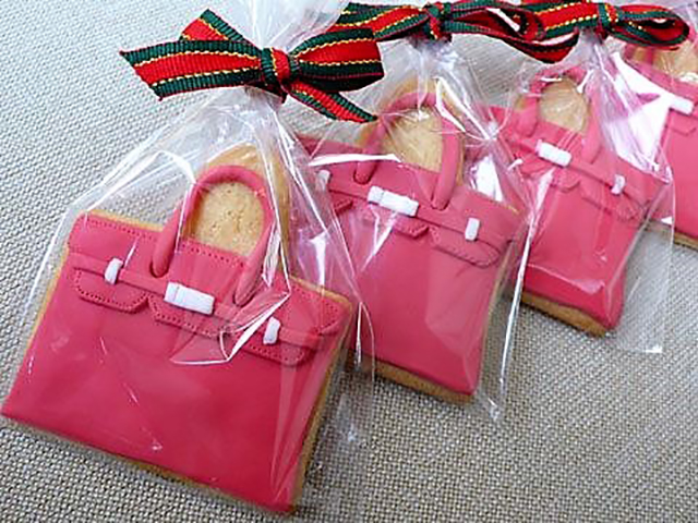 Fashion + Food | Hermes Birkin Bag cookies