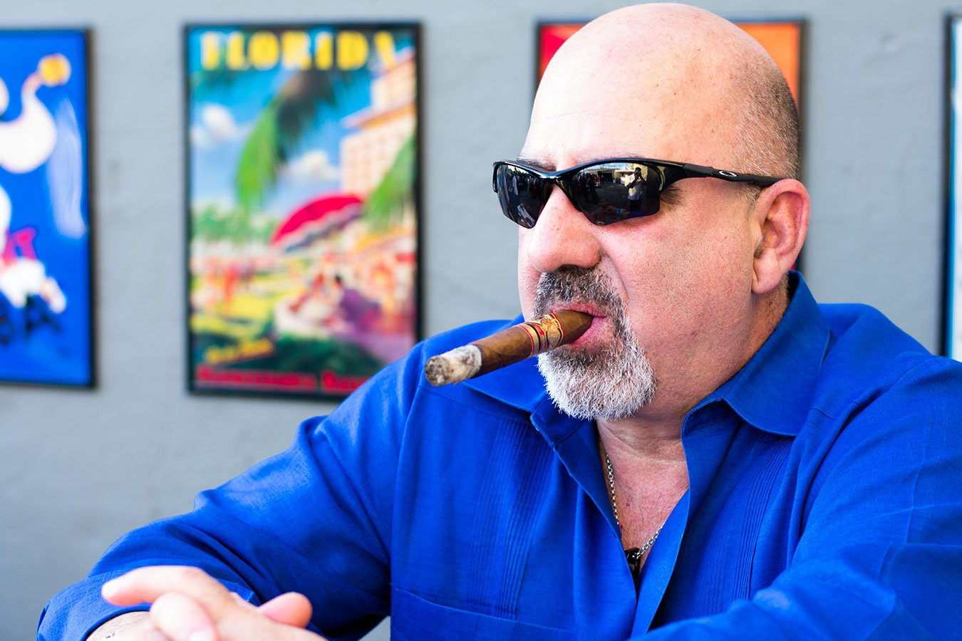 Guests savored hand-rolled Cuban cigars at the Southwest #Heartoftravel event in the FATVillage Arts District
