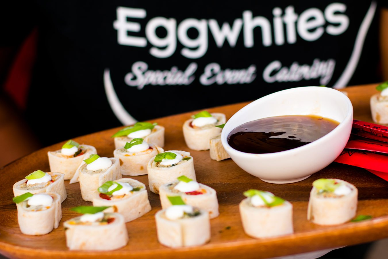 Catering Fort Lauderdale | Hors d'oeuvre | Hors d'oeuvre | Ropa Viejo Rolls with Cilantro, Sour Cream and Jalapeno Jack Cheese | FATVillage Arts District