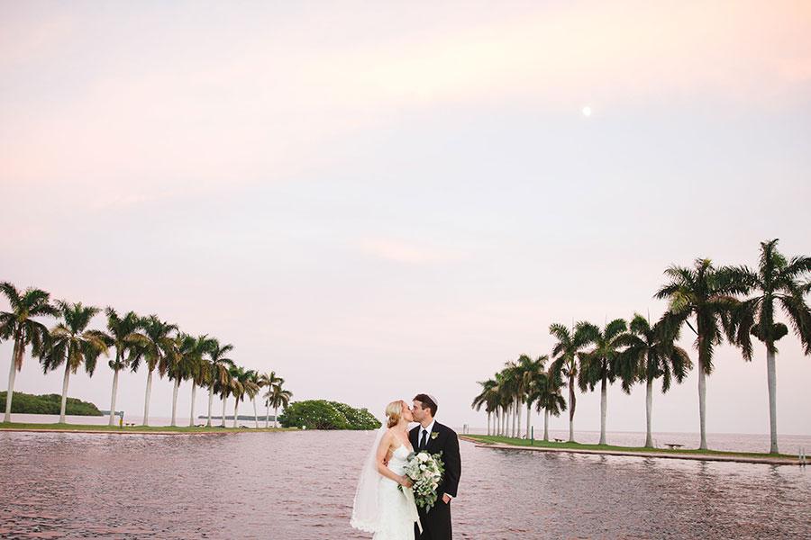 Wedding at Deering Estate. Photo courtesy of Justine Kang Photography.