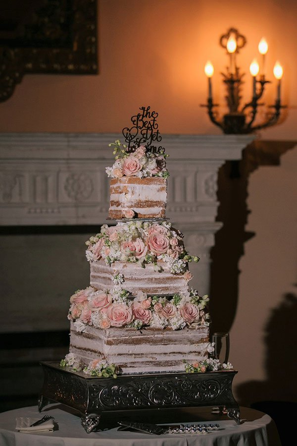 vintage wedding style | antique wedding cake pedestal | deering estate wedding