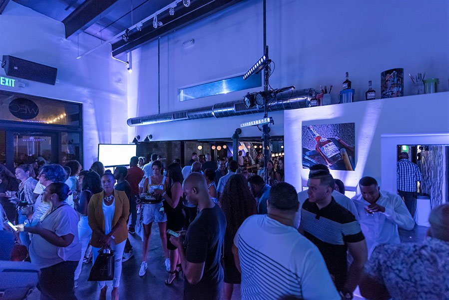 Product launch party for Hennessy VS Limited Edition by JonOne at Cafeina Wynwood