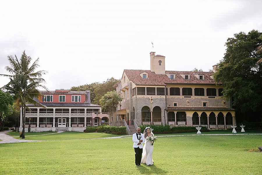 Miami wedding venues | Deering Estate wedding.