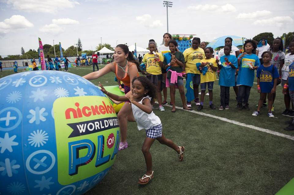 Miami Corporate Catering client - Nickelodeon Summer Games