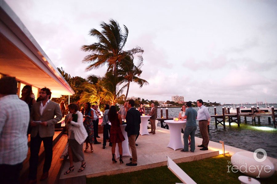 top South Florida caterer | intimate cocktail party for PAMM