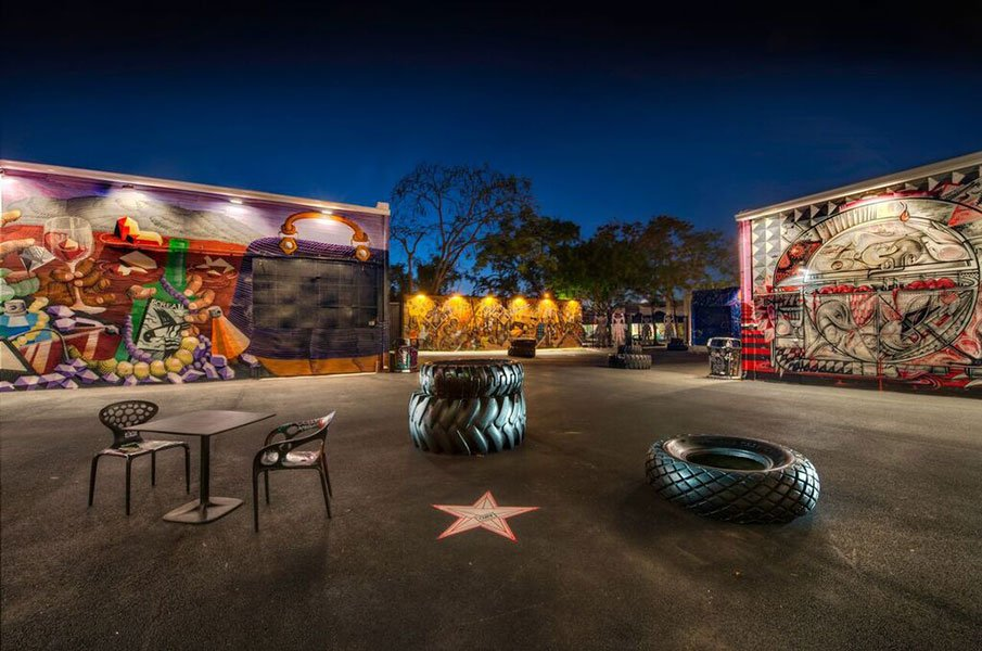 Holiday party venues in Miami | Wynwood Walls