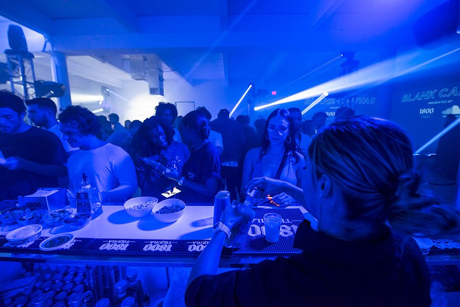 Miami caterers provide bar service for Soundcloud x 1800 Tequila Art Basel Party | Wynwood Arts District