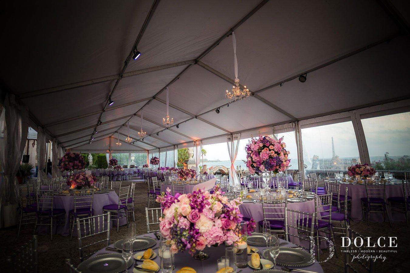 luxury wedding venues in miami outdoor | vizcaya museum & gardens
