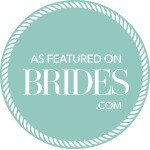 Featured on Brides.com Expert Wedding Vendor Badge