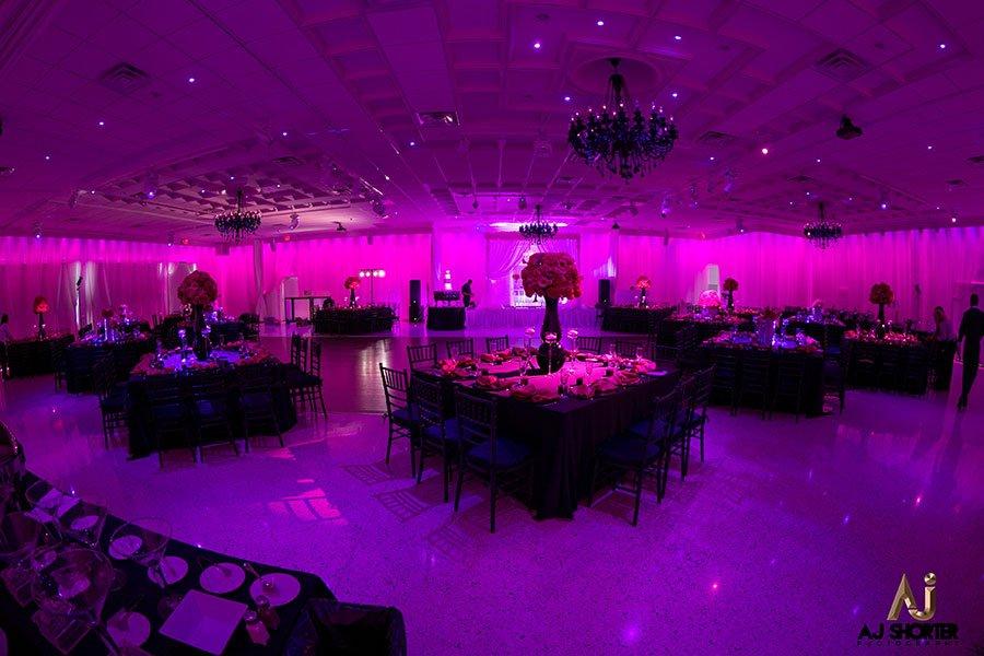 2018 wedding colors | ultra violet | soho house reception