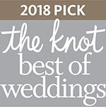Eggwhites Catering award for The Knot Best of Weddings 2018