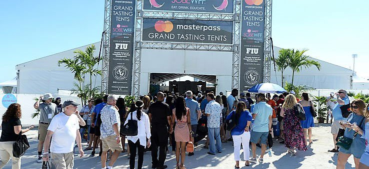 Grand Tasting Village at South Beach Wine and Food Festival