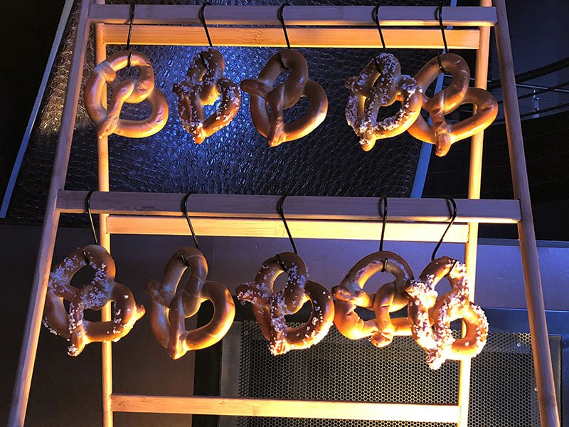 Superbowl catering menu | Philly-style Soft Pretzels