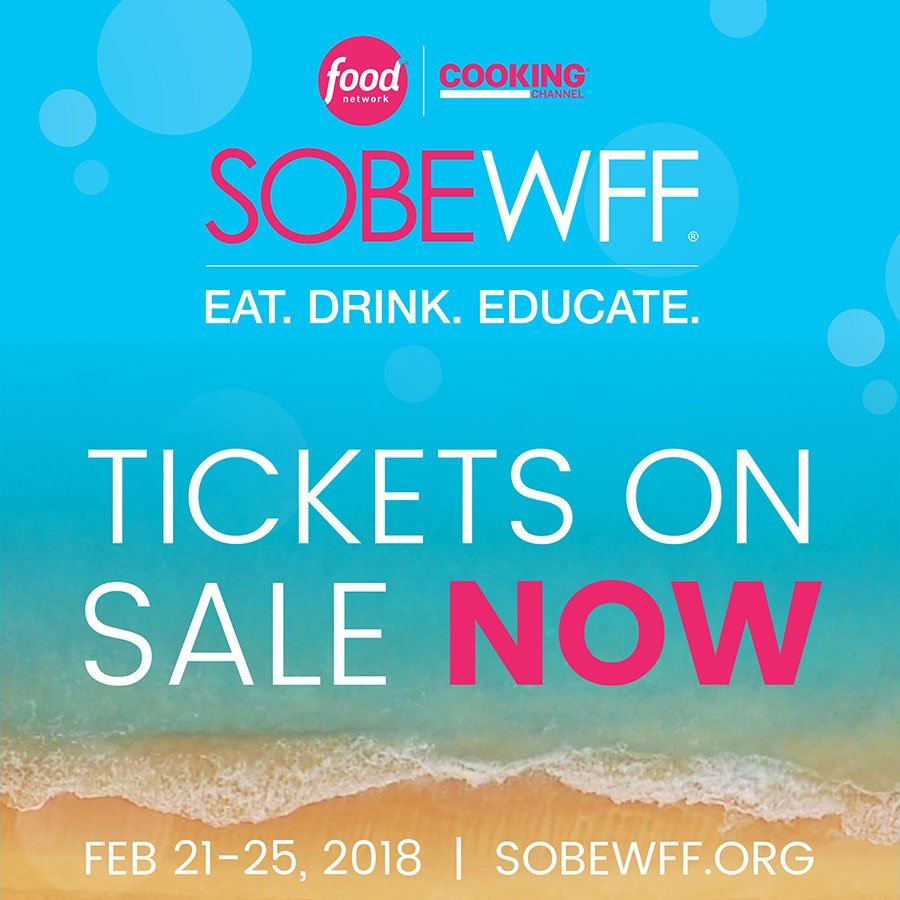 2018 South Beach Wine & Food Festival - Tickets on sale now