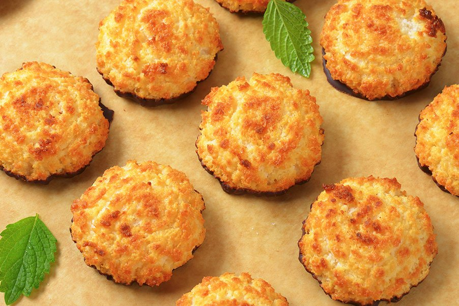 Passover Catering Menu | Coconut Macaroons