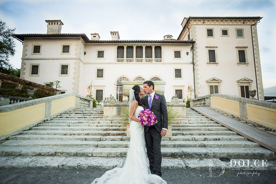 Vizcaya Museum & Gardens | Miami Wedding Venues | Kristine & Manny wedding party