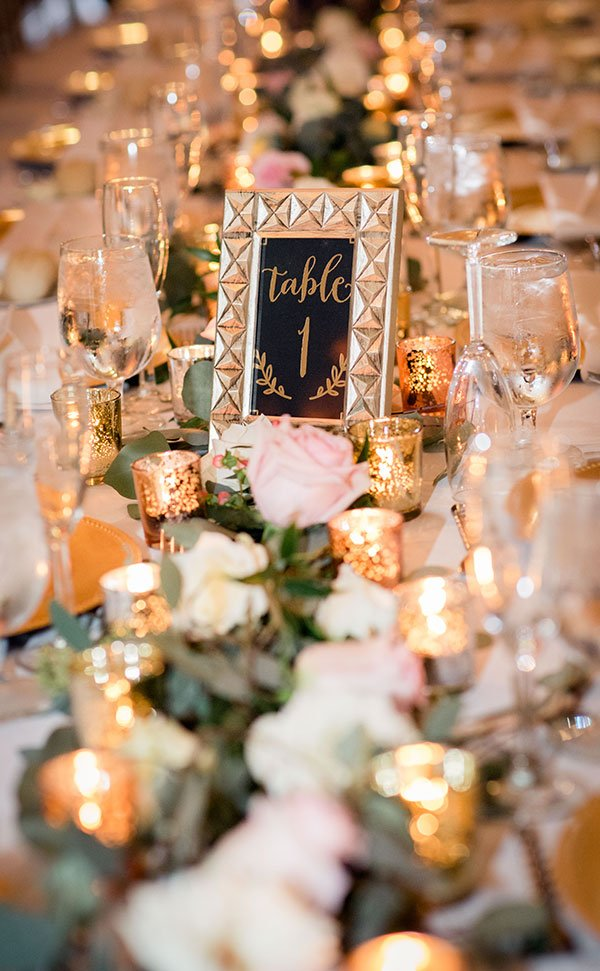 eco friendly wedding ideas | candlelight