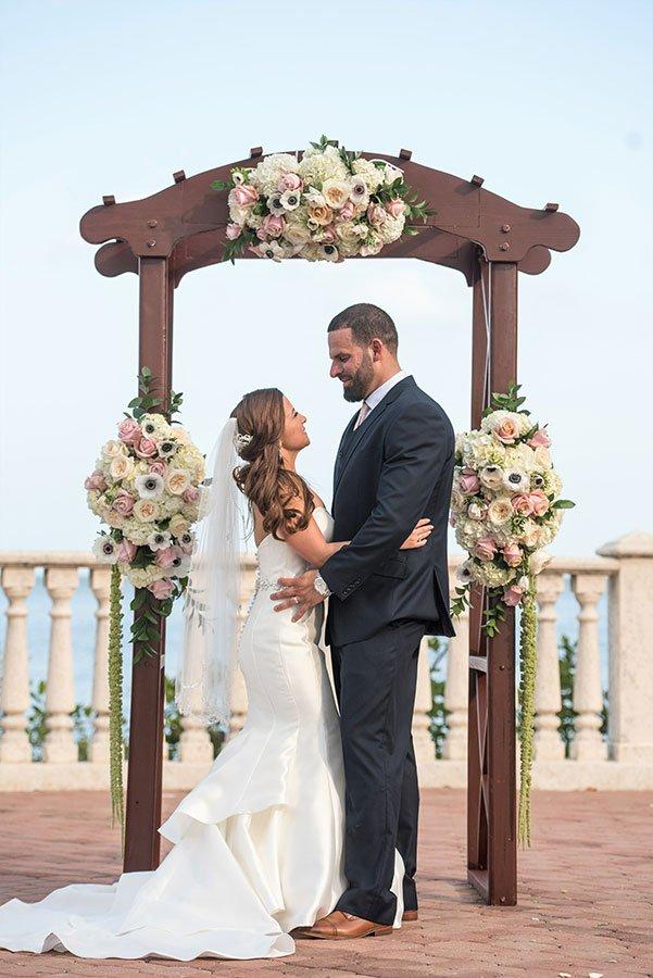 Thalatta Estate wedding ceremony