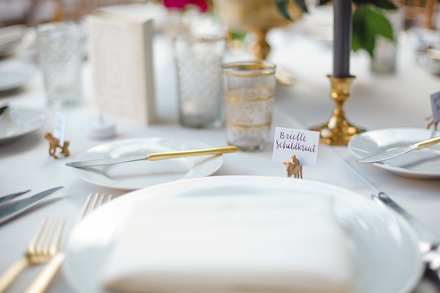 Wedding reception | placesetting