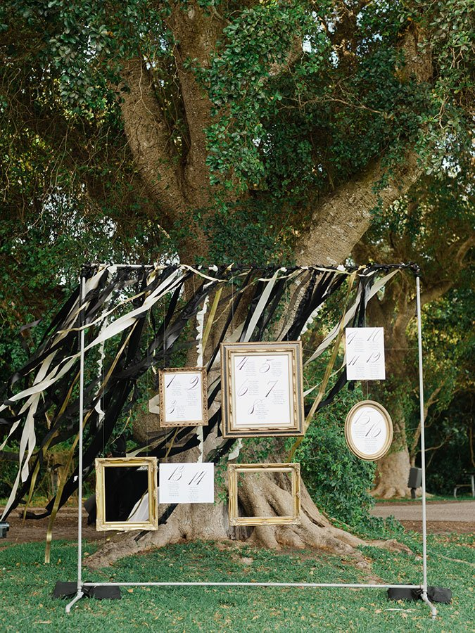 eco friendly wedding ideas | seating chart
