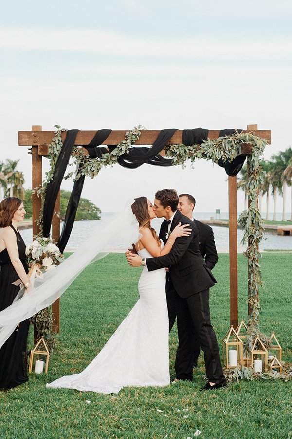 Miami wedding venues | Deering Estate wedding | Chris and Colleen