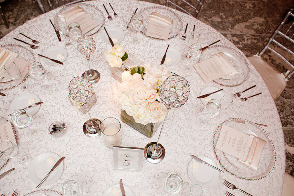 Style Me Pretty Miami Weddings | reception table | Vizcaya