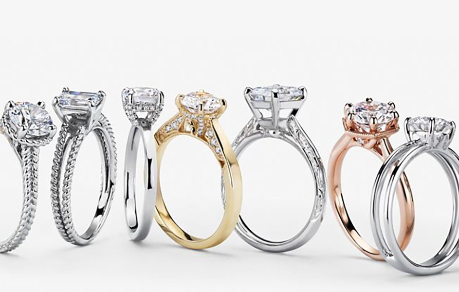 traditional engagement ring styles | diamond solitaire