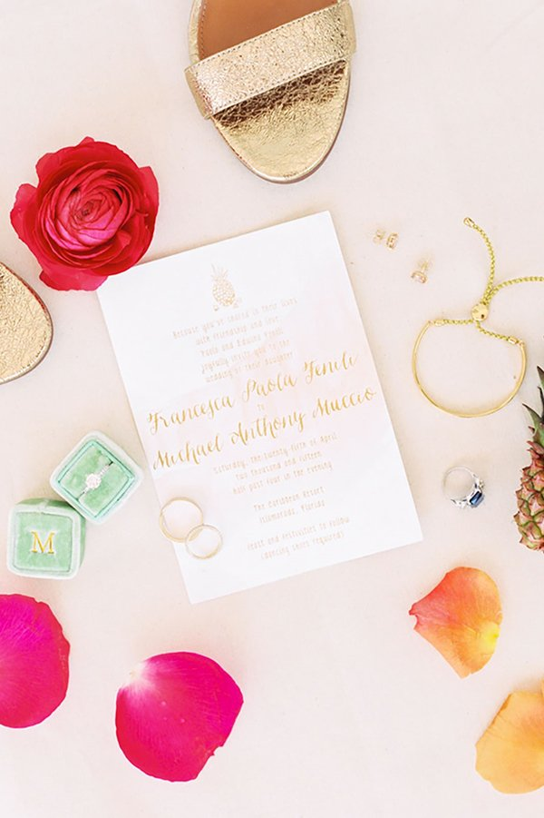timeless wedding tradition | wedding invitation