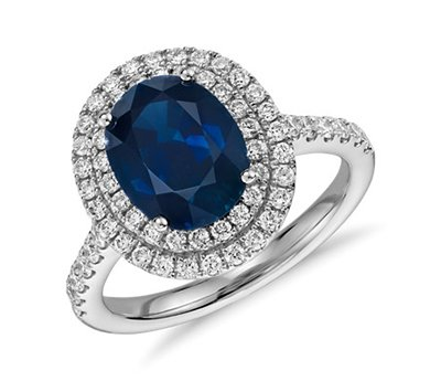 Wedding trends 2019 | Alternative wedding rings | sapphire