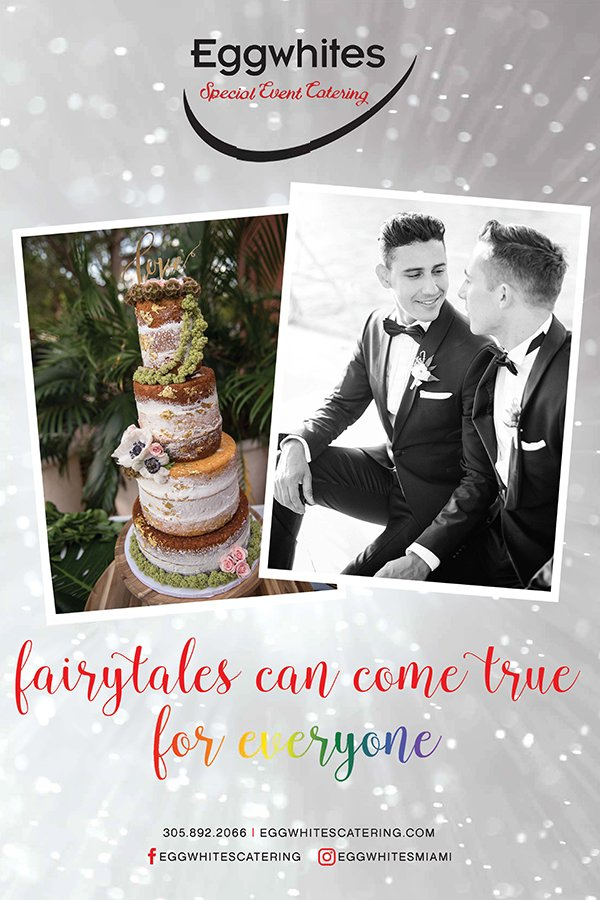 Eggwhites Catering } LGBT wedding vendor | best wedding caterers miami