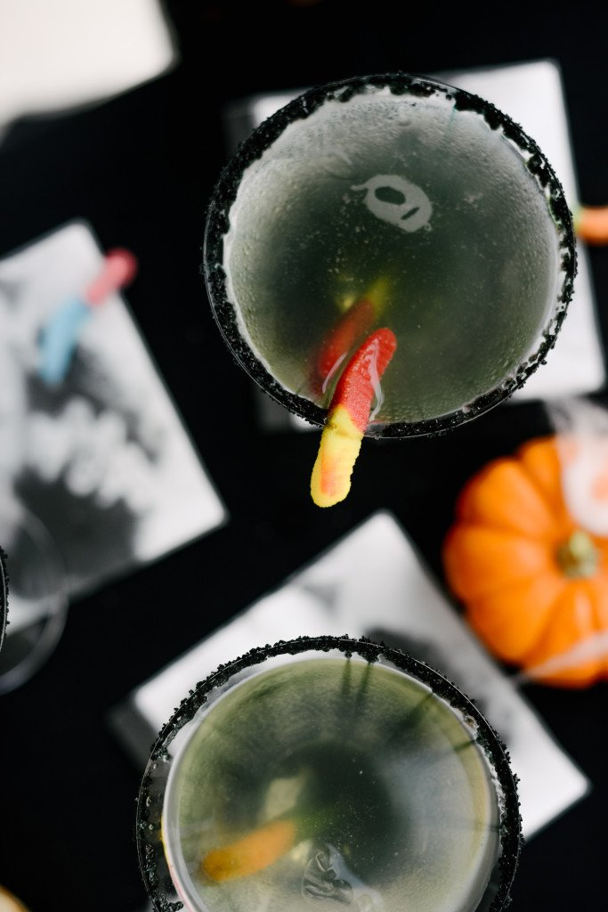 halloween themed catering | oogie boogie cocktail